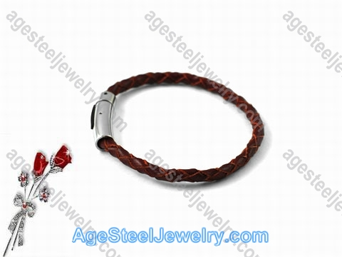 Leather Bracelet Brown B0955