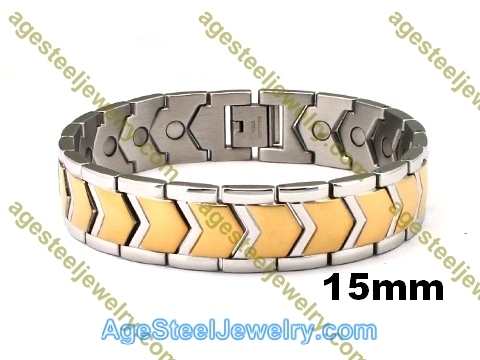 Magnetic Bracelet B2560 Gold