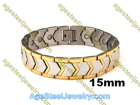 Magnetic Bracelet B2561 Gold