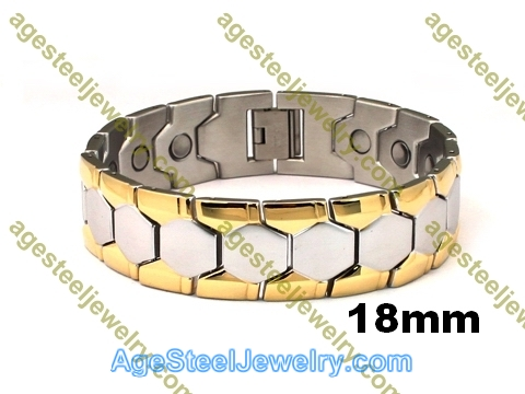 Magnetic Bracelet B2562 Gold