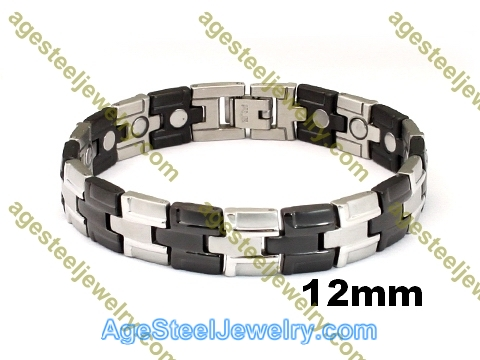Magnetic Bracelet B2563 Black
