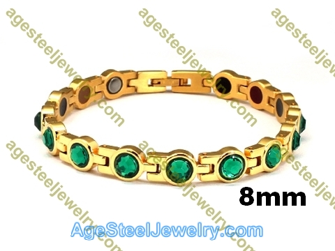 Magnetic Bracelet B2567 Gold