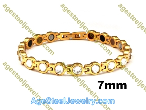 Magnetic Bracelet B2568 Gold