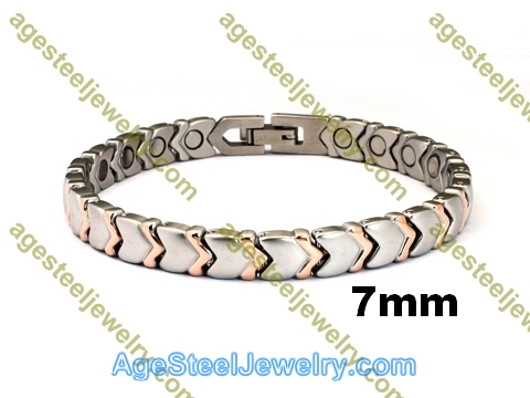 Magnetic Bracelet B2571 Rose Gold