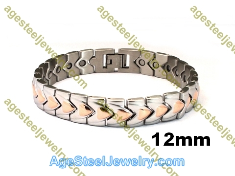 Magnetic Bracelet B2573 Rose Gold