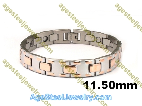 Magnetic Bracelet B2574 Rose Gold