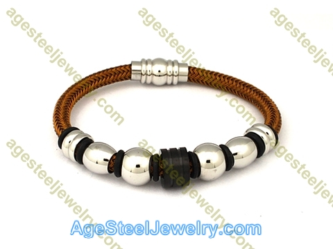 Leather Bangle BA1071