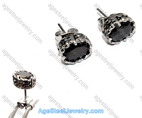 Casting Earring E2319 Black Beauty