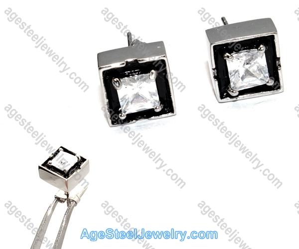 Casting Earring E2326 White Color