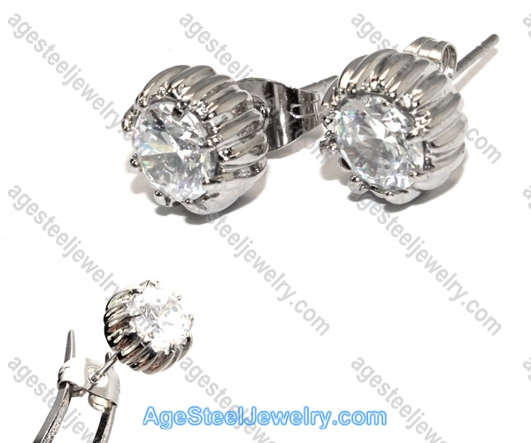 Casting Earring E2328 Beautiful Stone
