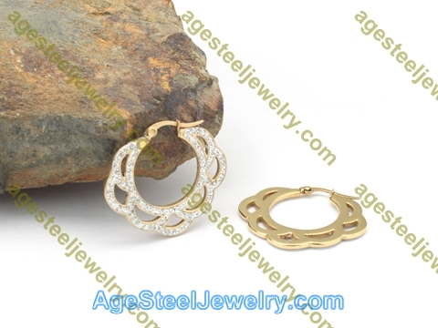 Plating Earring E2754 Gold
