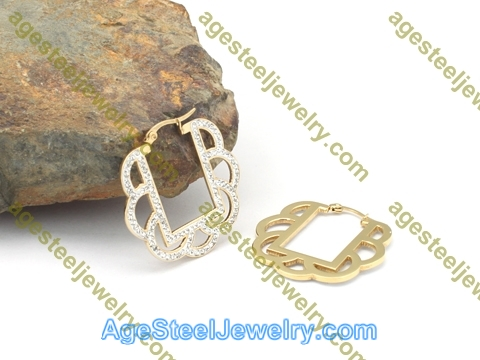 Plating Earring E2756 Gold