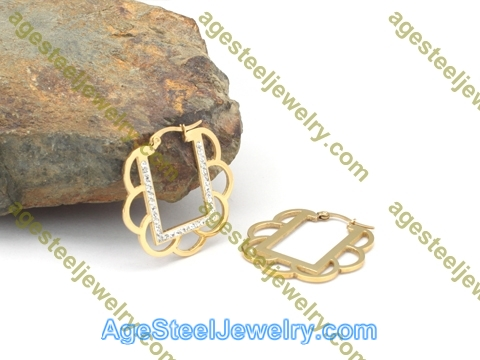 Plating Earring E2757 Gold