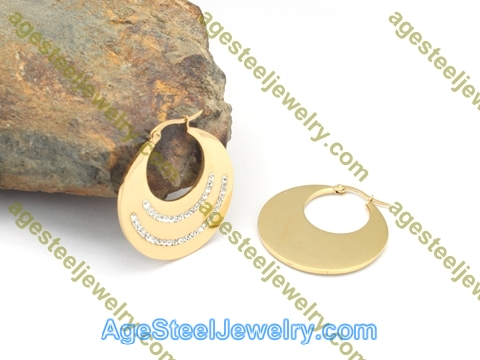 Plating Earring E2759 Gold