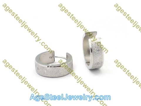Cutting Earring E2783 With Two Stone
