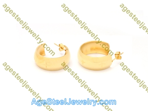 Plating Earring E2823 Gold