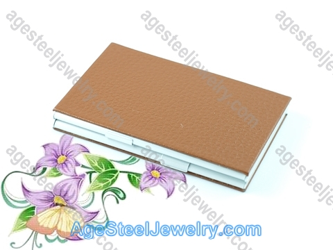 Business Card Holder H0388 Brown