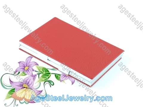 Business Card Holder H0391 Red