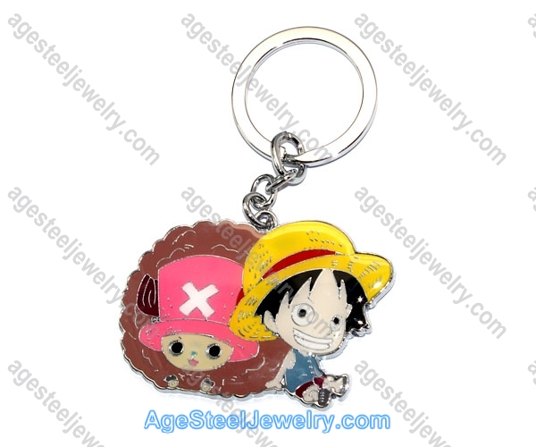 Key Ring K0767 Monkey D.Luffy & Tony Tony Chopper