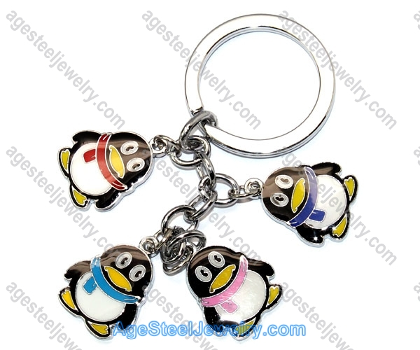 Key Ring K0804 QQ Penguins