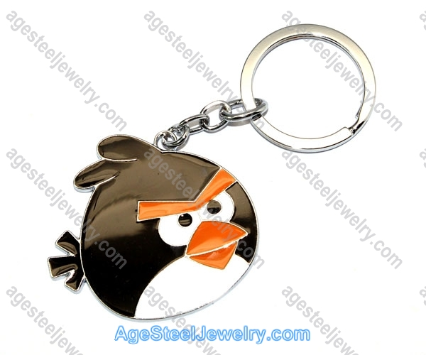 Key Ring K0892 Black Bomb
