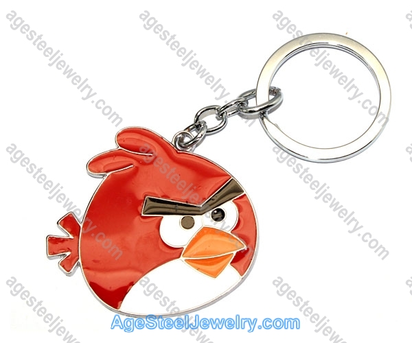 Key Ring K0893 Red Fire