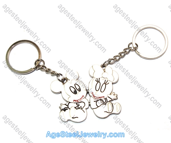 Key Ring K0916 Pairing Of Mickey Mouse