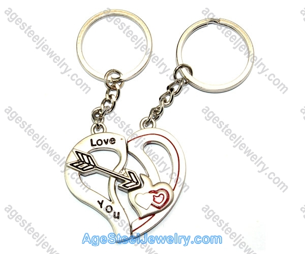 Key Ring K0918 An Arrow Through The Heart