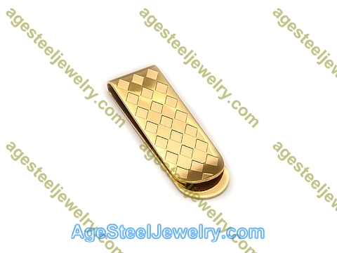 Money Clip M0055 Gold