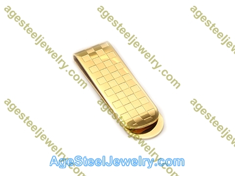 Money Clip M0056 Gold