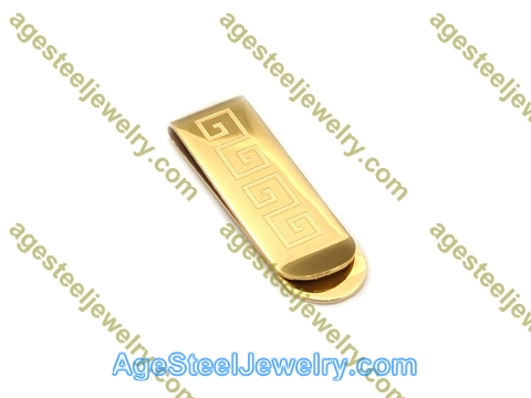 Money Clip M0057 Gold