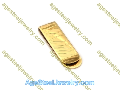 Money Clip M0060 Gold