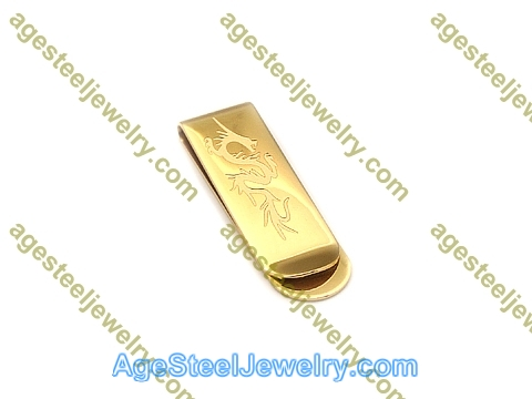 Money Clip M0061 Gold