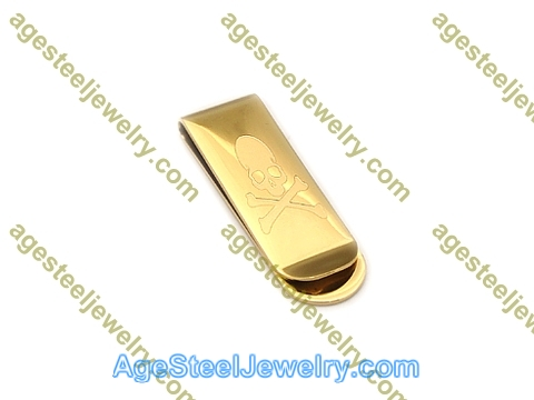 Money Clip M0064 Gold