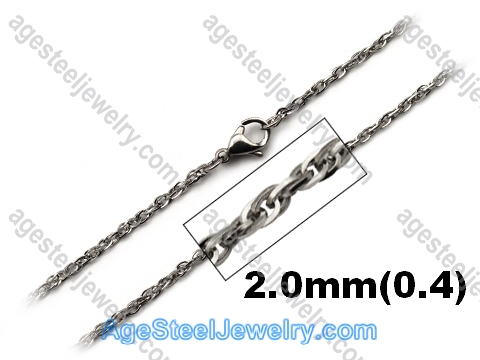 Stainless Steel Chain N1544 Interlocking