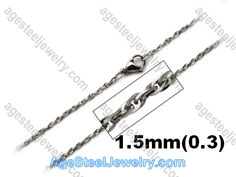 Stainless Steel Chain N1545 Interlocking