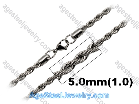 Stainless Steel Chain N1547 Twist Chain