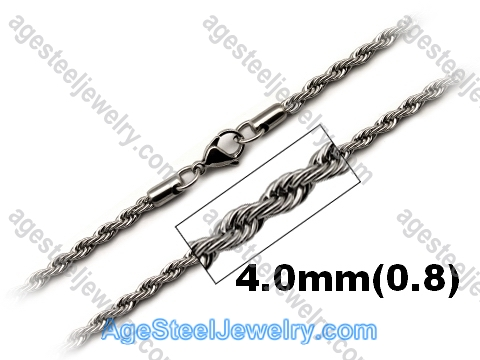 Stainless Steel Chain N1548 Twist Chain