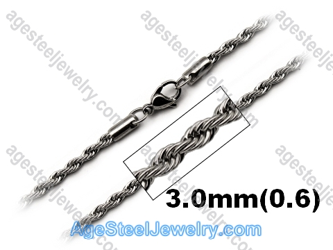 Stainless Steel Chain N1549 Twist Chain