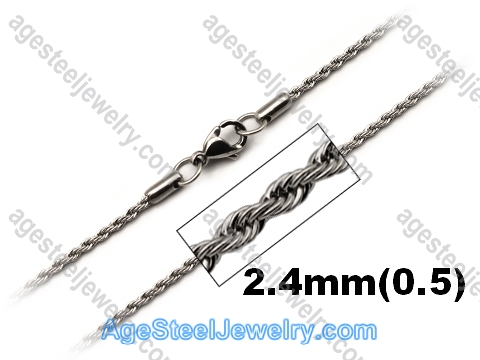 Stainless Steel Chain N1550 Twist Chain