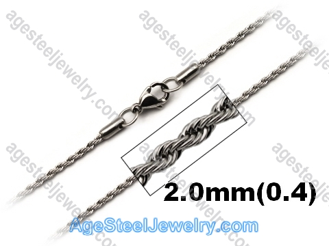 Stainless Steel Chain N1551 Twist Chain