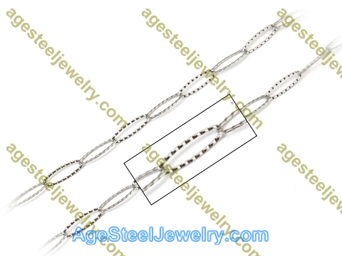 Stainless Steel Chain N1604