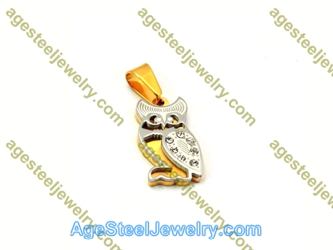 Stamping Pendant P5476 Gold