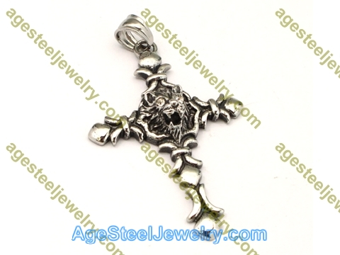 Cross Pendant P5499 White