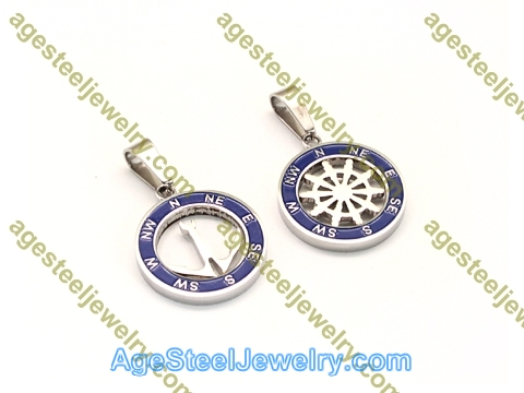 Couple Pendant P5585 Blue