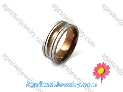Plating Ring Brown R1233