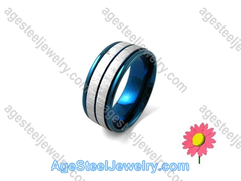 Plating Ring Blue R1234