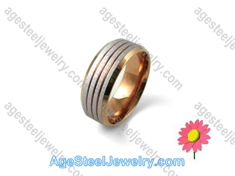 Plating Ring Brown R1235