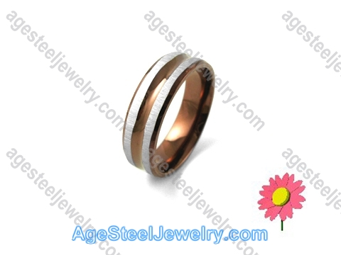 Plating Ring Brown R1236
