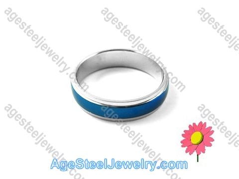 Plating Ring Blue R1237
